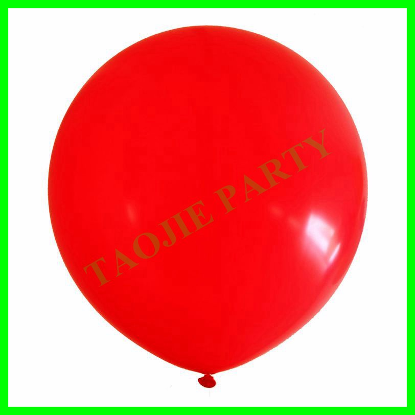 Perfect Round shape 36 inches giant latex balloons-PINK