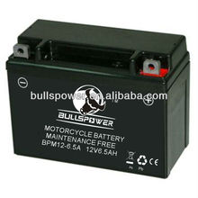 best price 12v motorcycle battery dynavolt battery 12N6.5 motorcycle battery BPM12-6.5
