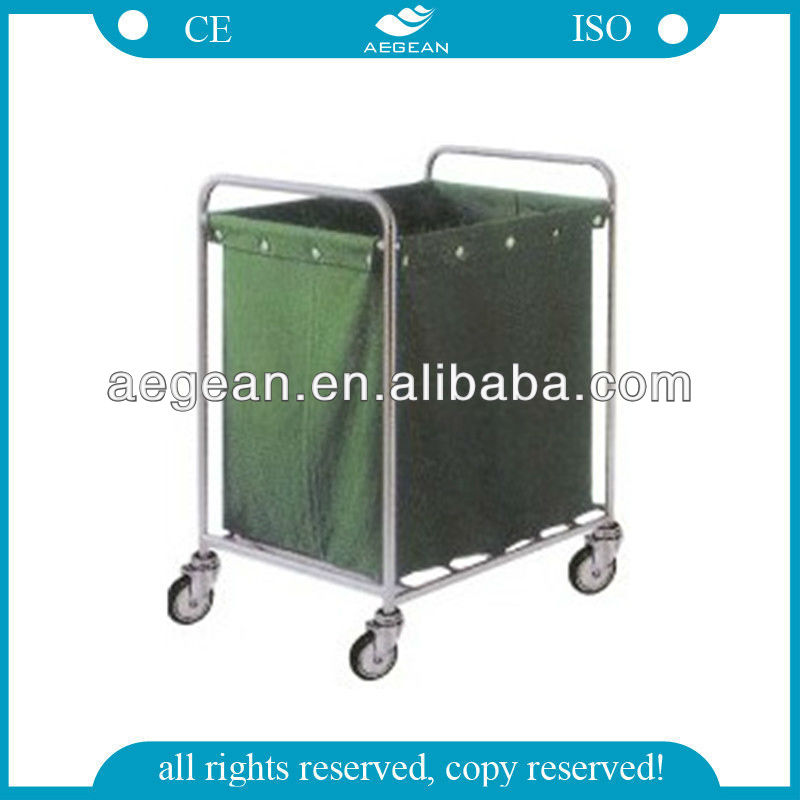 AG-SS013 (suspending bag) Stainless Steel clothes trolleys carts