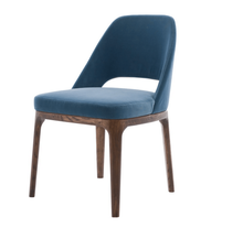 New modern design foshan furniture comfortable wood dining chair