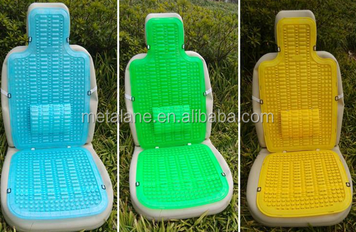 Cheap price plastic comfortable car seat cover for summer