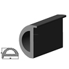 D section marine rubber fender boat bumper fender