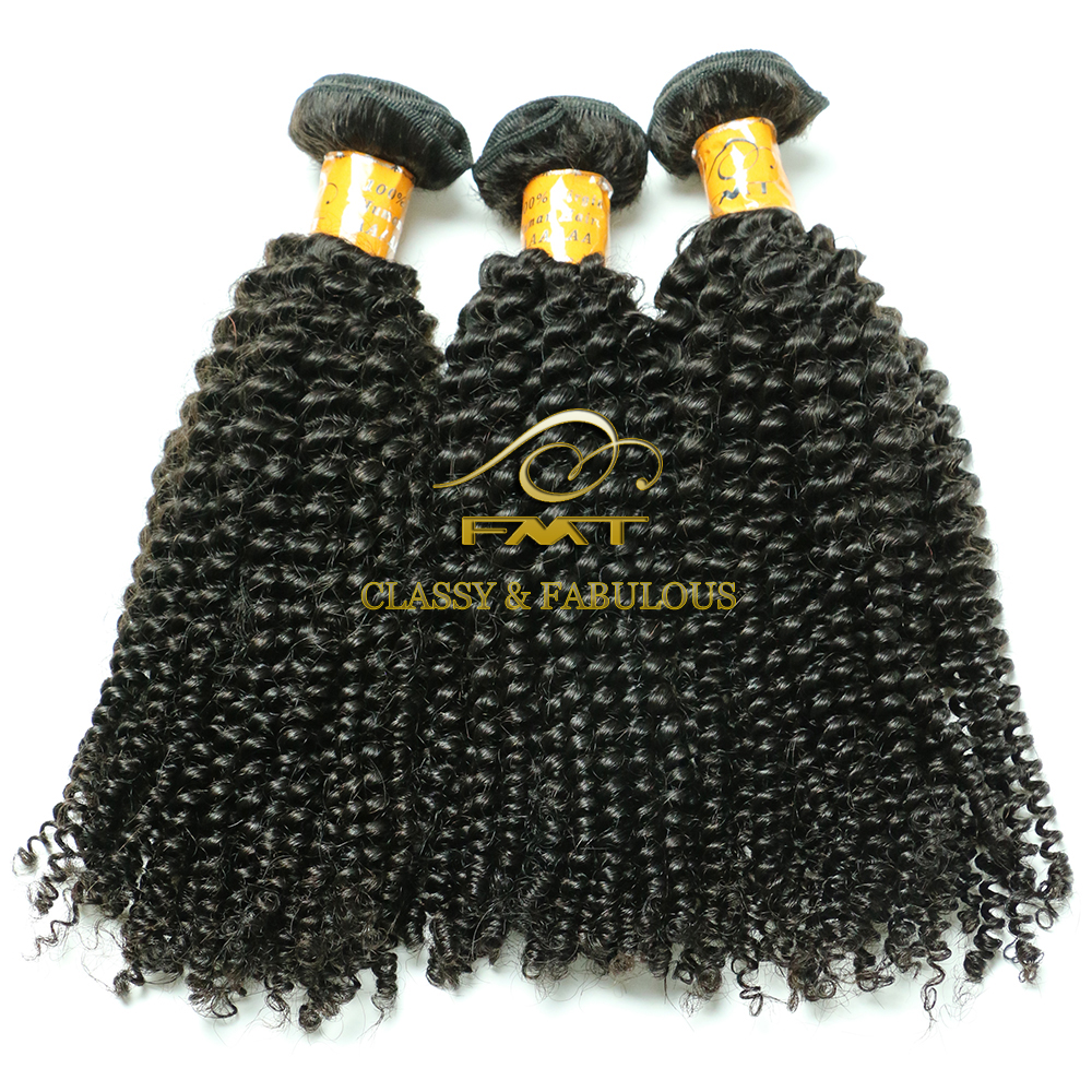 Hot kinky curly human hair No tangle no shedding free chinese human hair