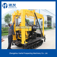 Widely used HF130L water well drilling equipment, power head water well drilling rig