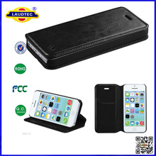 Luxury Superior Elegant PU Leather Wallet Phone Case for iPhone 5 6,Flip Stand Mobile Case Cover for iPhone 5 6--Laudtec