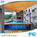 PG Clear Custom Acrylic Panels for Swimming Pool