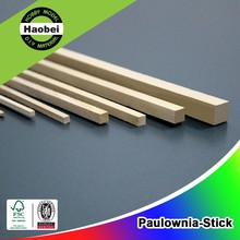 New Paulownia Wood Square Stick Timber