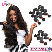 2015 XBL New arrival best price 7A Chemical Free salon use products