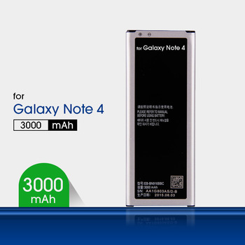 Lithium-ion Mobile Battery for Samsung Galaxy Note 4 Battery N9100 N9108V N9109V N9106W