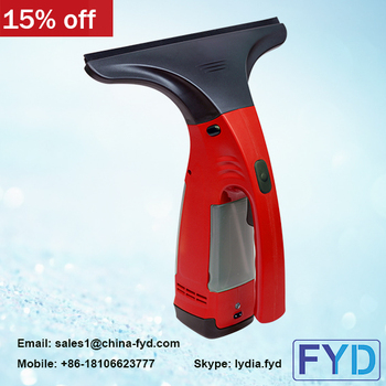 FYD Window Vacuum Cleaner Handheld Vacuum Portable Rechargeable and Cordless Electronic Window Vac