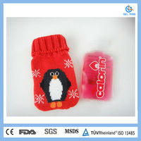 Promotion instant heat pack therapy hand warmer with knitted cover