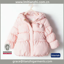 Girl's down jacket in the long section new children's down jacket girls kids coat outlet