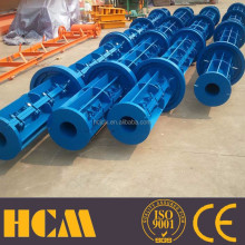 LY-Pole Low Price whole pole making production line for pre-stressed reinforced spun concrete pole steel mould in China