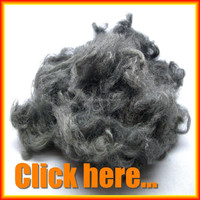 1.5D*38MM Silver coated nylon staple fiber for antibacterial yarn
