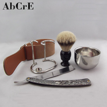 Professional latest custom factory price personalized shaving set