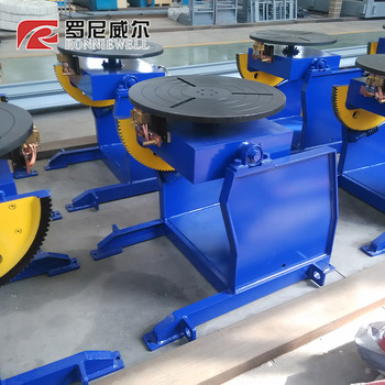 Stable and reliable operation arc welding positioner