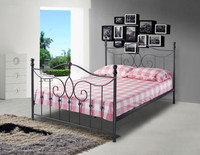 2015 Modern designs home furniture iron bed