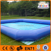 0.90mm Material big colorful inflatable children swimming pool portable swimming pools for sale