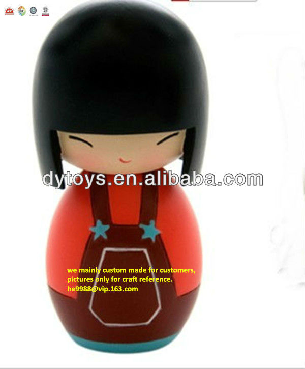 plastic small vinyl craft dolls