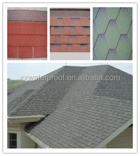 cheap price and hot sales asphalt roofing shingles