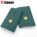 Custom design military uniform pvc shoulder epaulets