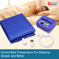 Bed Mattress Pads Adjustable Temperature Heat And Cool Healthy Mattress