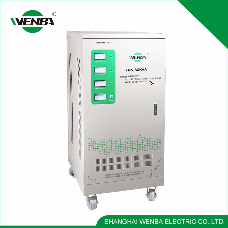 Modern Design Widely Use Quality-Assured Automatic Voltage Stabilizer 80Kw
