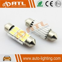 Hot sale 3W(6SMD)/4.5W(9SMD) blue light led bulb, FESTOON blue led car exterior lights, 12V blue car led strobe light