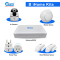 Wireless home automation with Smart Switch,Wifi Home Protection Video recording Gateway