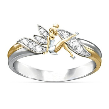 Fashion angel rings jewelry wedding Ring for Women