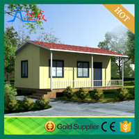China manufacture moblie steel frame prefabricated house for accommomdation