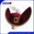 Captain hook cap with ostrich feather