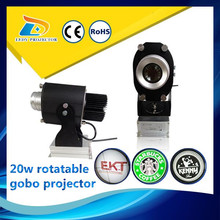 Fast shipping LED 20w rotatable liquid light projector for sale for Christmas light