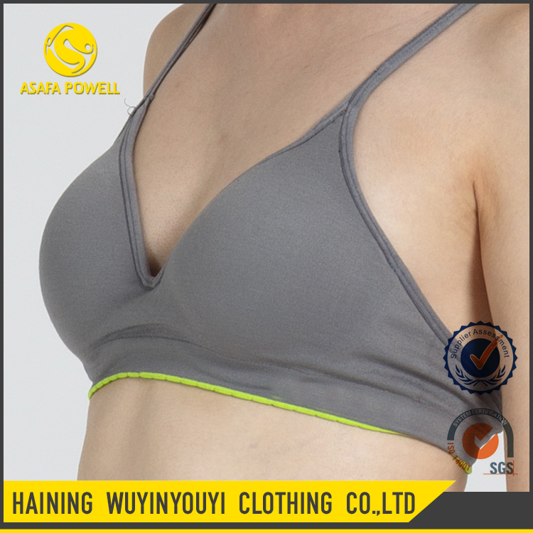 New Arrival Custom Jogging Wear Sexy Stretch Soft Sports Bra