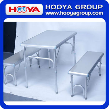 outdoor folding picnic camping dining table set
