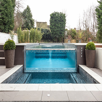 Acrylic walls for swimming pool price by acrylic board
