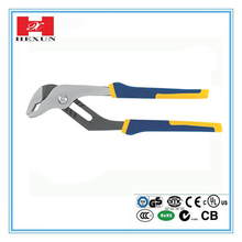 Double Color Stanley Handle American Type Carbon Steel Flat Nose Plier