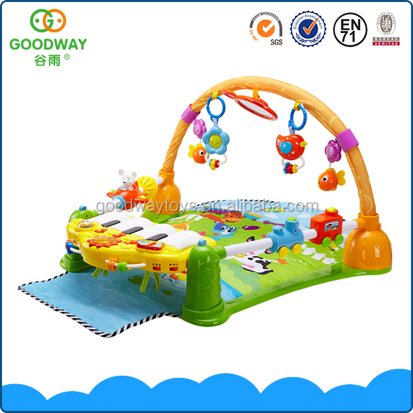 High quality safety and funny baby non-toxic play mat with piano