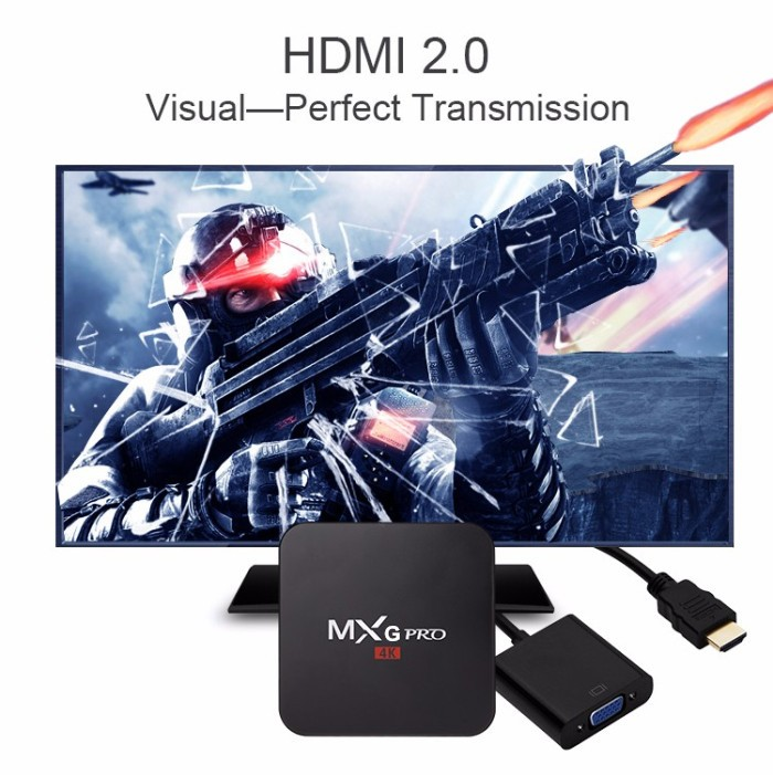 MXG pro 4k Amlogic S905 1g/8g Android 5.1 Tv Box kd player 16.0 Mxg Pro Android tv box from dragonworth