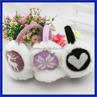 2016 Fake Fur Cheaper Earmuff Headphone /Ear muffs for Winter /Winter Fashion Earmuffs