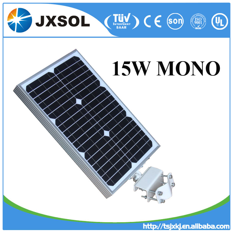 Mono silicon 15 watt small solar panel/paneles solares for solar street light