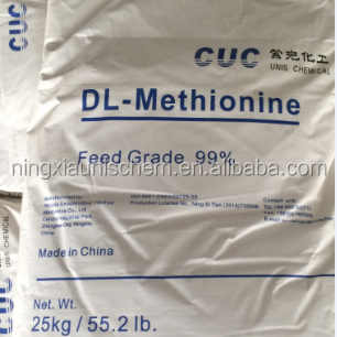 CUC Feed Ingredients DL-Methionine 99% For Feed