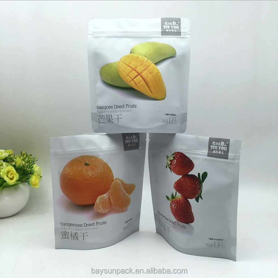 On sale plastic zipper air sealed storage bags for dry coffee bean nut food discount for and others