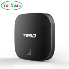YOUYUAN Digital Satellite Receiver With 3G 4G Sim Card 1Gb Ram 8Gb Rom Android Tv Box Free Sample T95D RK3229 SMART TV BOX