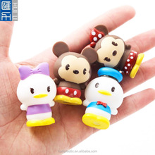 OEM cartoon animal custom figure ,3D custom pvc figurine,Making Tiny animal figurine wholesale
