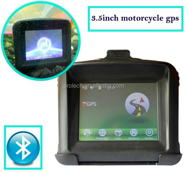 Wholesale Fashion 3.5inch touch screen motorcycle/car/bicycle gps navigator MT-3502B#P0003