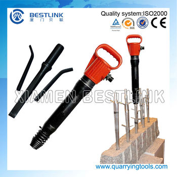 Quarrying Hand Stone Splitter Feathers and Wedge