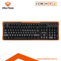 Backlight Wired Gaming Keyboard with New Design