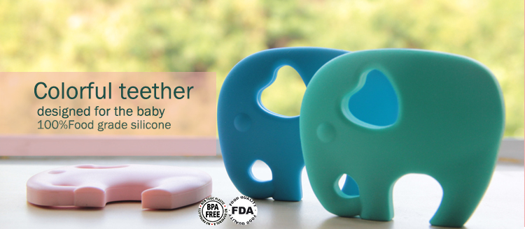 2015 China Wholesale Food Grade Funny Silicone Adult Teether