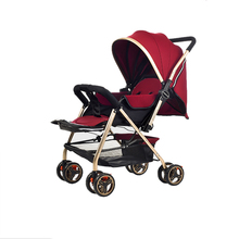 Dual-direction Fashionable Foldable Multifunctional Baby Stroller